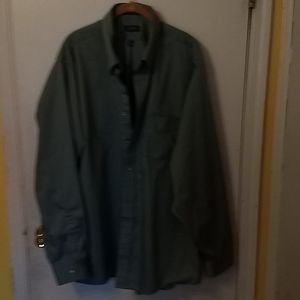 Dress shirt XXL seafoam green like new condition